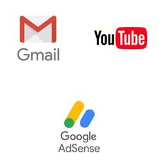 Gmail youtube GoogleAdsense